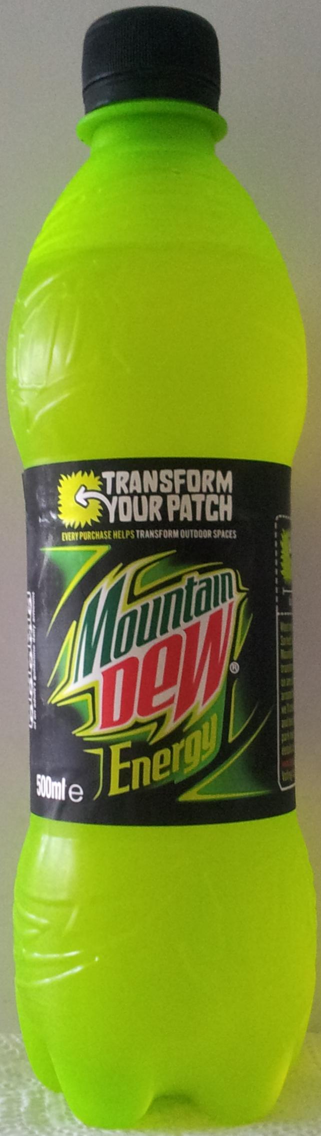 mountain dew koffeinhalt