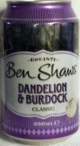 BenShawsDandelionBurdock